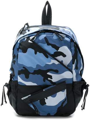 Valentino camouflage print backpack