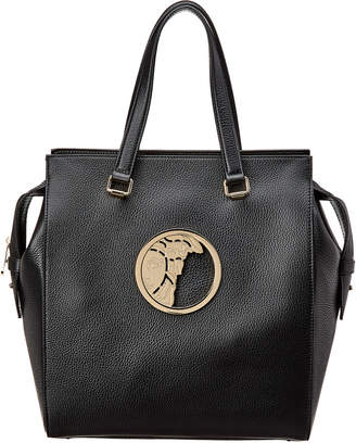 fe5dda27eef8 Versace Medusa Head Leather Tote
