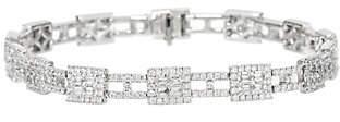 """Affinity Diamond Jewelry White Diamond 8"""" Tennis Bracelet, 14K,by Affinity"""
