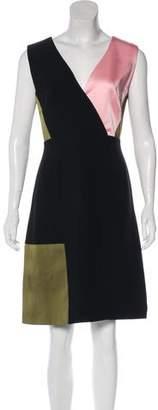 Jonathan Saunders Sleeveless Knee-Length Dress
