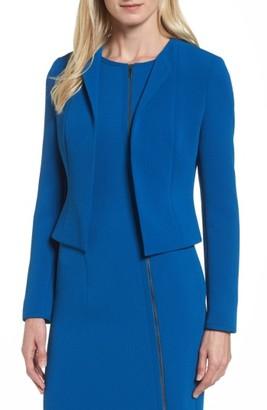 Petite Women's Boss Jerusa Crop Suit Jacket $445 thestylecure.com