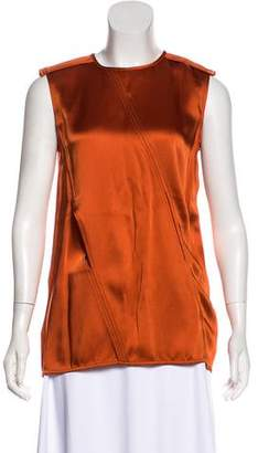 Tom Ford Cutout Satin Top w/ Tags