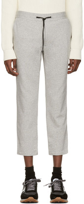 Marc Jacobs Grey Cropped Lounge Pants $390 thestylecure.com
