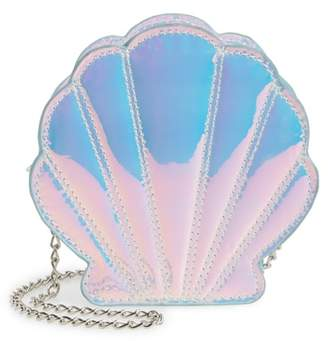 Capelli New York Iridescent Seashell Shoulder Bag