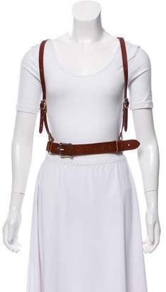 Zana Bayne Studded Leather Harness
