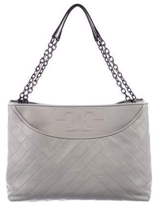 Tory Burch Quilted Alexa Leather Tote
