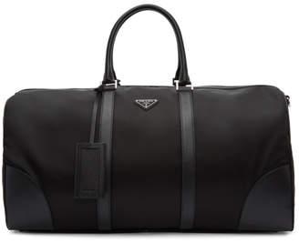 Prada Black Nylon Duffle Bag