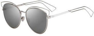 Dior Sideral 2 Metal Sunglasses $465 thestylecure.com