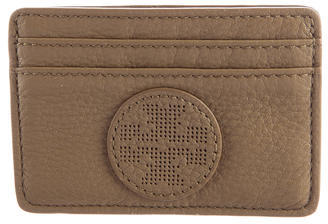 Tory Burch Tory Burch Perforated Leather Card Holder