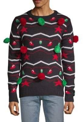 It's Lit Pom-Pom Sweater