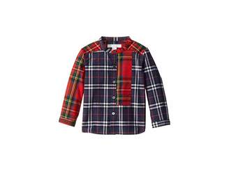 Burberry Argus Tuxedo Shirt (Infant/Toddler)