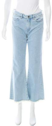 MiH Jeans Mid-Rise Wide-Leg Jeans w/ Tags