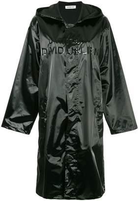 Ground Zero hooded zipped raincoat