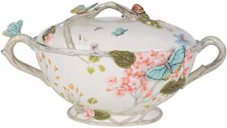 Fitz & Floyd Butterfly Fields Tureen