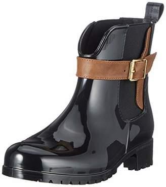 Tamaris Women's 25410-21 Ankle Boots, (Black/Cognac 23)