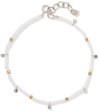 SCOSHA - Beach Beaded Bracelet - White