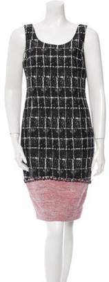Chanel Tweed Sheath Dress w/ Tags Black Tweed Sheath Dress w/ Tags