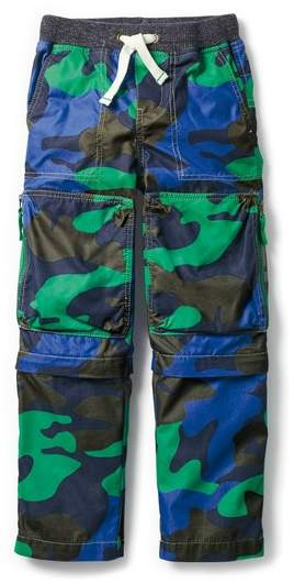 Mini Boden Techno Convertible Zip Off Pants
