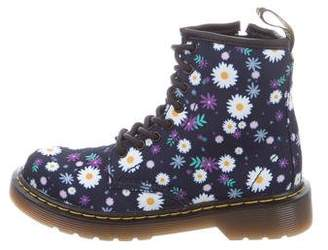 Dr. Martens Kids Girls' Delaney Printed Boots w/ Tags