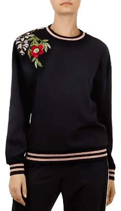 Ted Baker Maddeyy Embroidered Sweater