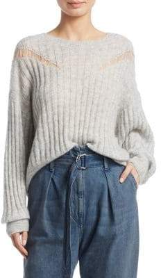 IRO Opera Distressed Knit Pullover