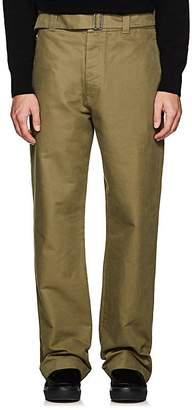 Margaret Howell Men's Cotton Twill Wide-Leg Trousers