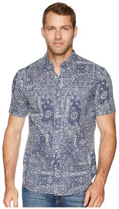 Reyn Spooner Aloha Bandana Tailored Fit Hawaiian Shirt Men's Short Sleeve Button Up