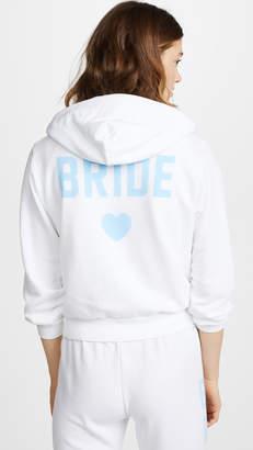 Wildfox Couture Bride Zip Up Hoodie