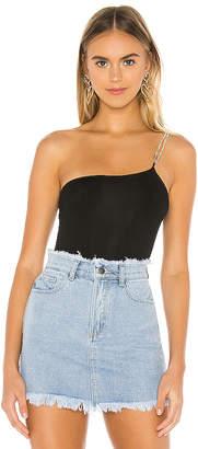 superdown Zayna Chain Strap Bodysuit