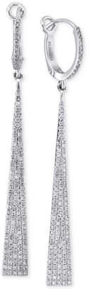 Effy Geo by Diamond Drop Earrings (3/4 ct. t.w.) in 14k White Gold