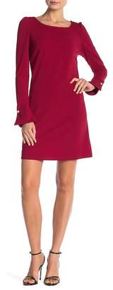 Vanity Room Puff Long Sleeve Dress