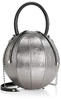 Nita Suri Women's Iconics Pilo Volcanic Sphere Leather Top Handle Bag