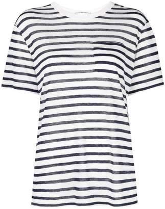 Alexander Wang striped T-shirt