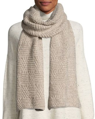 Eileen Fisher ALPACA CHAINETTE SCARF $148 thestylecure.com