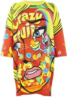 Moschino Cereal Box Print T-Shirt Dress