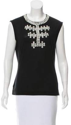 Paul Smith Sleeveless Embellished Top