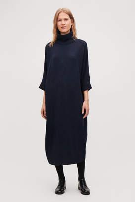 Cos OVERSIZED HIGH-NECK DRESS