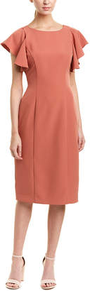 Tahari by Arthur S. Levine Tahari Asl Midi Dress