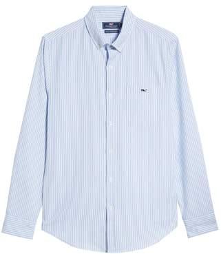 Vineyard Vines Tiloo Cay Slim Stretch Tucker Sport Shirt