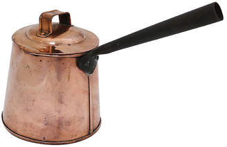 One Kings Lane Vintage Antique English Copper Ale/Cider Warmer