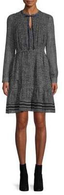 Marella Battito Houndstooth Dress