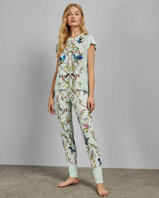 c6e46ae67 Ted Baker HILAIRE Highgrove print pyjama trousers