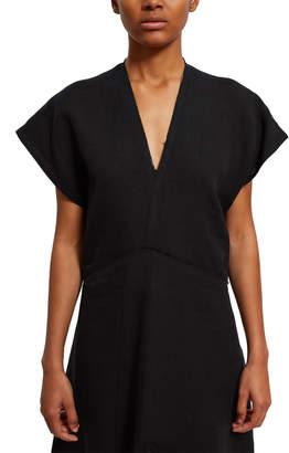 Acne Studios Jessia Raw Linen Dress