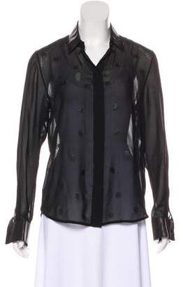 Rag & Bone Long Sleeve Button-Up Blouse w/ Tags