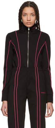 Misbhv Black and Pink Aspen Track Jacket