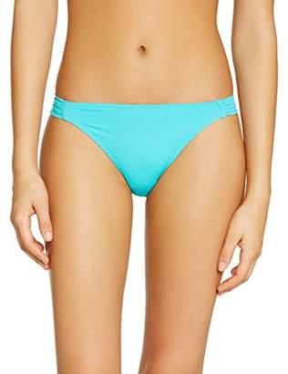 Saint Tropez Kiwi Women's Skort Plain or unicolor Bikini Bottoms - - 8
