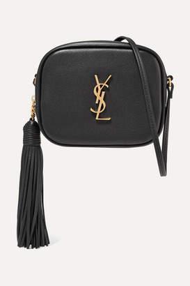 Saint Laurent Monogramme Blogger Leather Shoulder Bag - Black