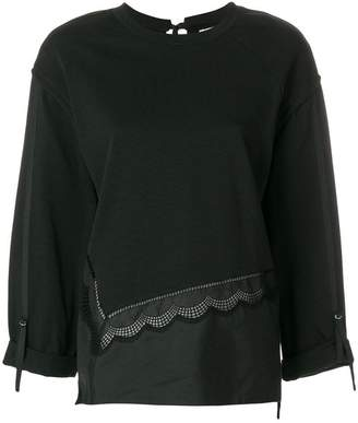 3.1 Phillip Lim embroidered long-sleeve top