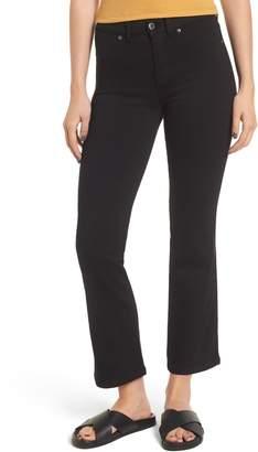 Denim & Supply Ralph Lauren Dr. Denim Supply Co. Holly Crop Flare Jeans