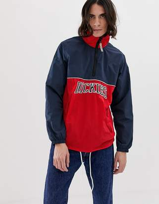 Dickies Pennellville overhead jacket in red